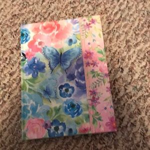 Floral notepad